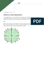 Simetria no Círculo Trigonométrico - Brasil Escola