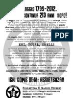 10 Maggio 1799-2012