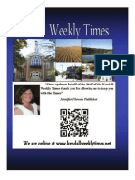 Mothers Day Kendall Weekly Times