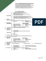 Complete Abdominal Protocol
