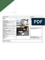 Machine Use Proforma Pillar Drill