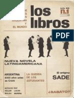 Revista Los Libros 1 - Argentina