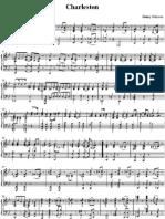 Charleston Piano Sheet