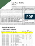 Revisión de Planos Parte Electrica e Instrumentación  (Chancadora Primaria, ZAFs, Celdas Unitarias)