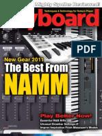 Keyboard Magazine - April 2011-TV