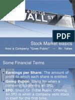 SOIStock Market Basics