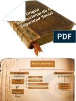 Origen Institucional de La Seguridad Social