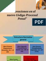 Innovaciones Del Codigo Procesal Penal
