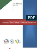 American Fellows Program Partners of the Americas