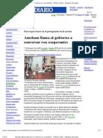 Amcham Llama Al Gobierno a Conversar Con Cooper Antes - El Nuevo Diario - Managua, Nicaragua