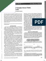 Stress Fields & Strut Tie Model STM - Ruiz Muttoni