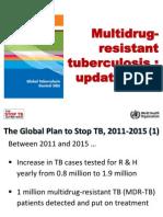 MDR Tuberculosis Update