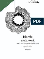 Allan - Islamic Metalwork 1982-Extraits