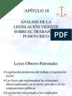 Capítulo 18 Leyes Obreras