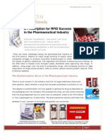 0821 RFID for the Pharmaceutical Industry