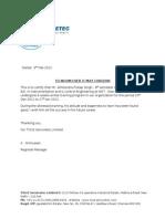 Certificate TVS Akhilendra