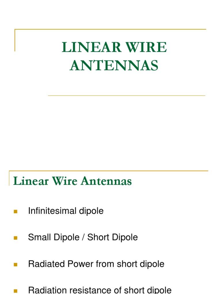 Half Wave Dipole Antenna Ppt