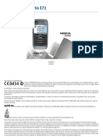 Manual E71 Nokia