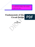 fundamentals of electronic circuit design electrical impedance p
