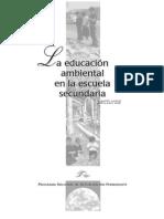 La educación  ambiental  en la escuela  secundaria  PROGRAMA NACIONAL DE CAPACITACION PERMANENTE