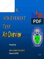 national achievement test articles What are academic achievement tests has the only nationwide academic achievement test, the national assessment of educational progress (naep).