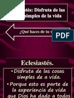 Eclesiastés IBE Callao # 8