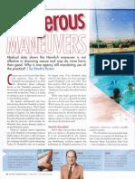 """Dangerous Manuevers"" by Kendra Kozen, Aquatics International, May 2012"