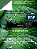 Conservarea Biodiversitatii Si a Mediului Din Viata Traditional A