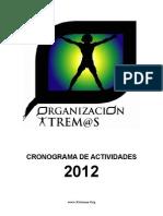 Programa Niños cronograma-2012