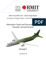 Alternative Fuels and Environmentally Friendly Aircraft System