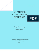 Amerind Linguistic Family AED5