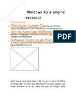 Activa Tu Windows Xp a Original