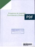 Proyectos de Inversion - ion y Evaluacion
