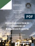 Protocolo de Quioto e Comércio de Emissões de Carbono
