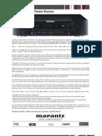 Marantz NR1501 Spec Sheet