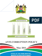 Anti Corruption Policy