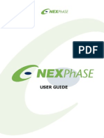 Nexphase User Guide
