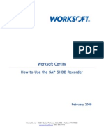 3022.How to Use SAP SHDB Recorder