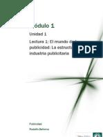 Lectura M1- El Mundo de La Public Id Ad La Estructura de La Industria Public It Aria