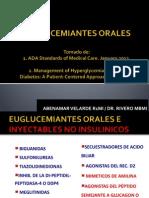 Euglucemiantes Orales ADA 2012