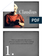 Character Project Claudius
