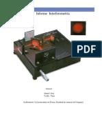 informe interferometria