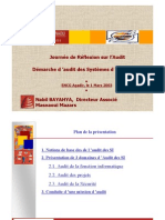 Audit Des Systemes d Information
