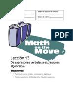 Math Expresiones Verbales