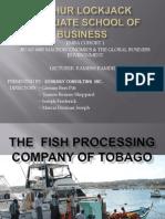 Presentation -Tobago Fish Processing Porject 1[1]