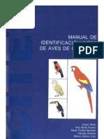 Manual de Identificacion CITES de Aves de Colombia