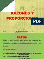 RAZONES Y PROPORCIONES 2012