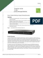 CISCO SFE2010P Data Sheet c78-504110