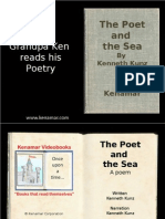 The Poet and the Sea, a poem by Ken Kunz