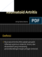 Reumatoid Artritis (Aji)